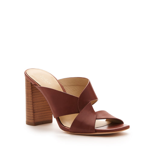 raven twist sandal cognac brown side Alternate View
