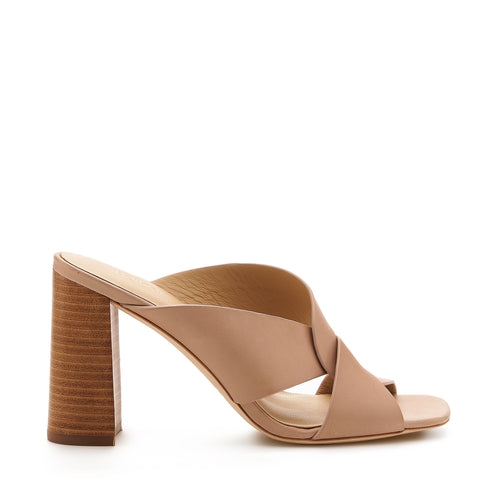 raven twist sandal natural side