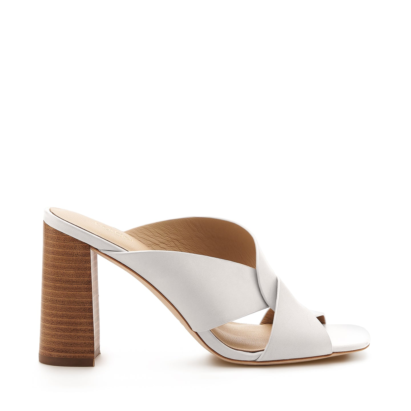 raven twist sandal coconut side