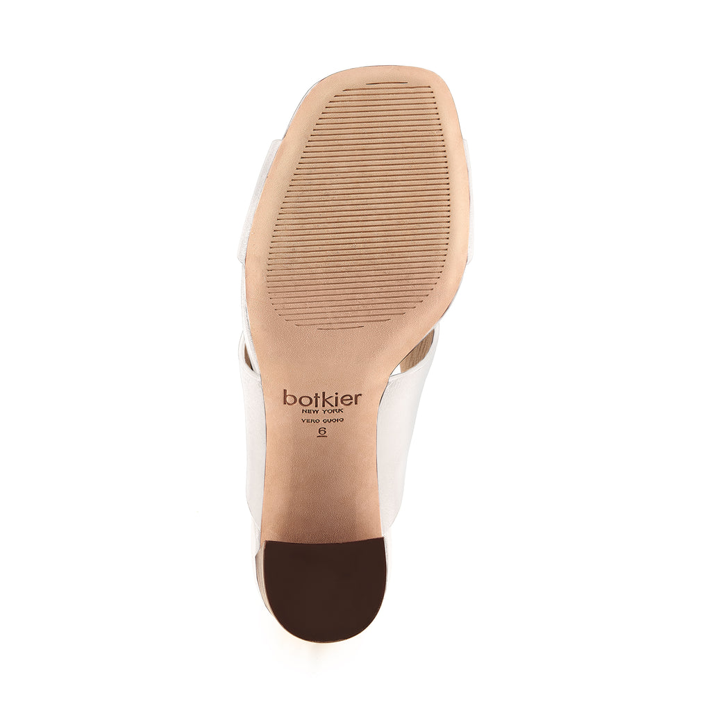 raven twist sandal coconut bottom