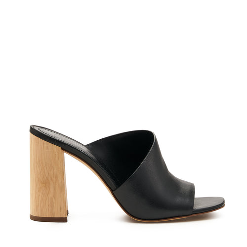 botkier ross d'orsay open toe mule heel in black