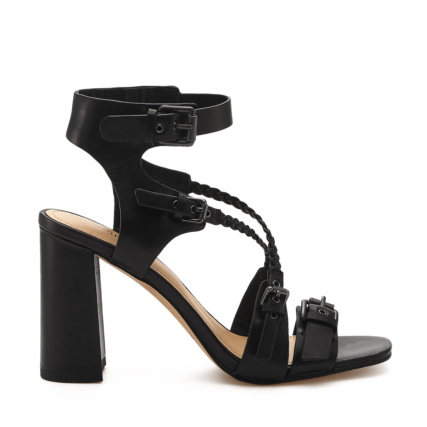 rory sandal black side