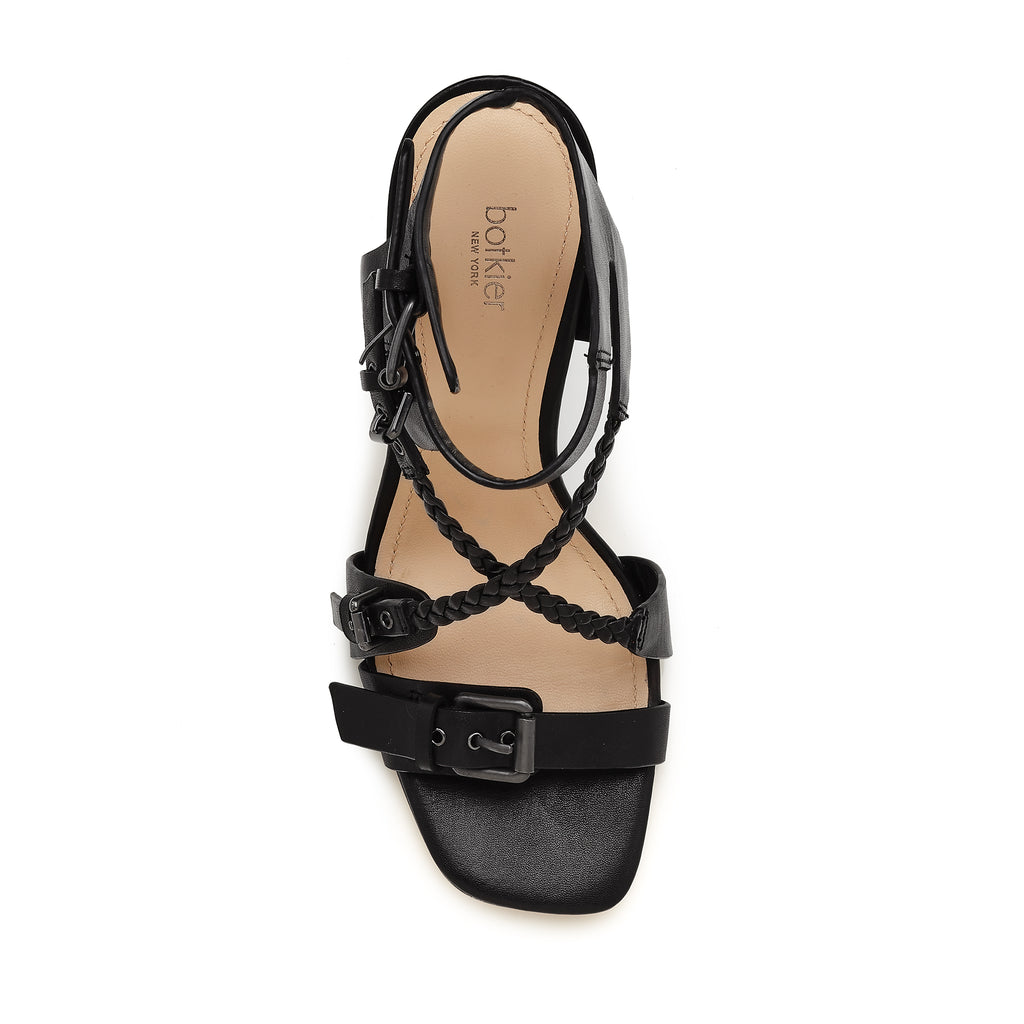 rory sandal black top