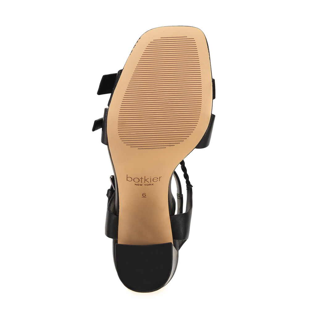 rory sandal black bottom