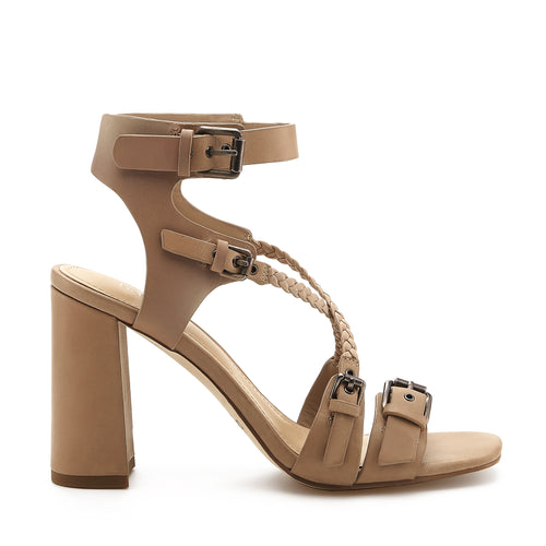 rory sandal taupe side