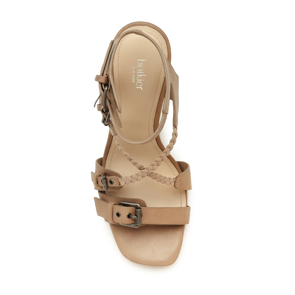 rory sandal taupe top