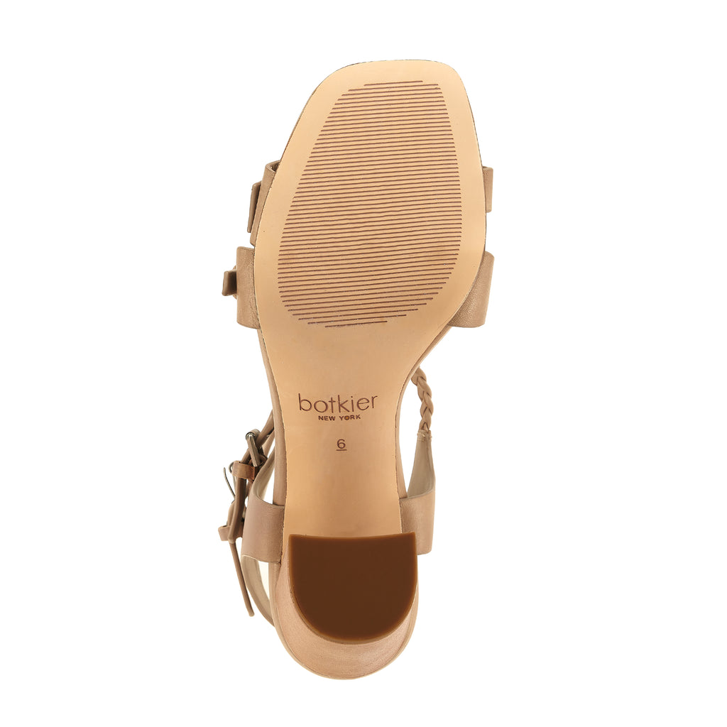 rory sandal taupe bottom