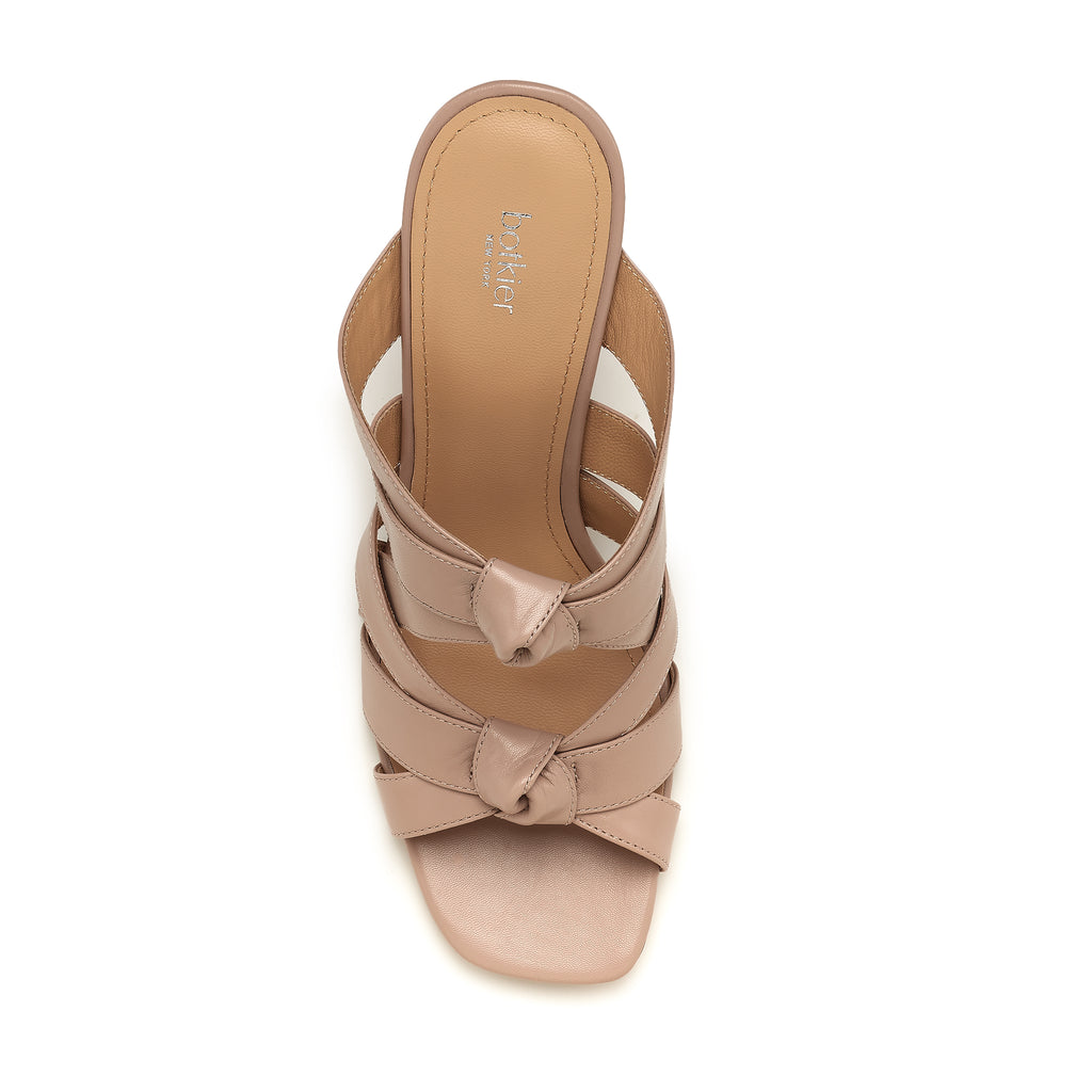 raffe multi strap mule almond top