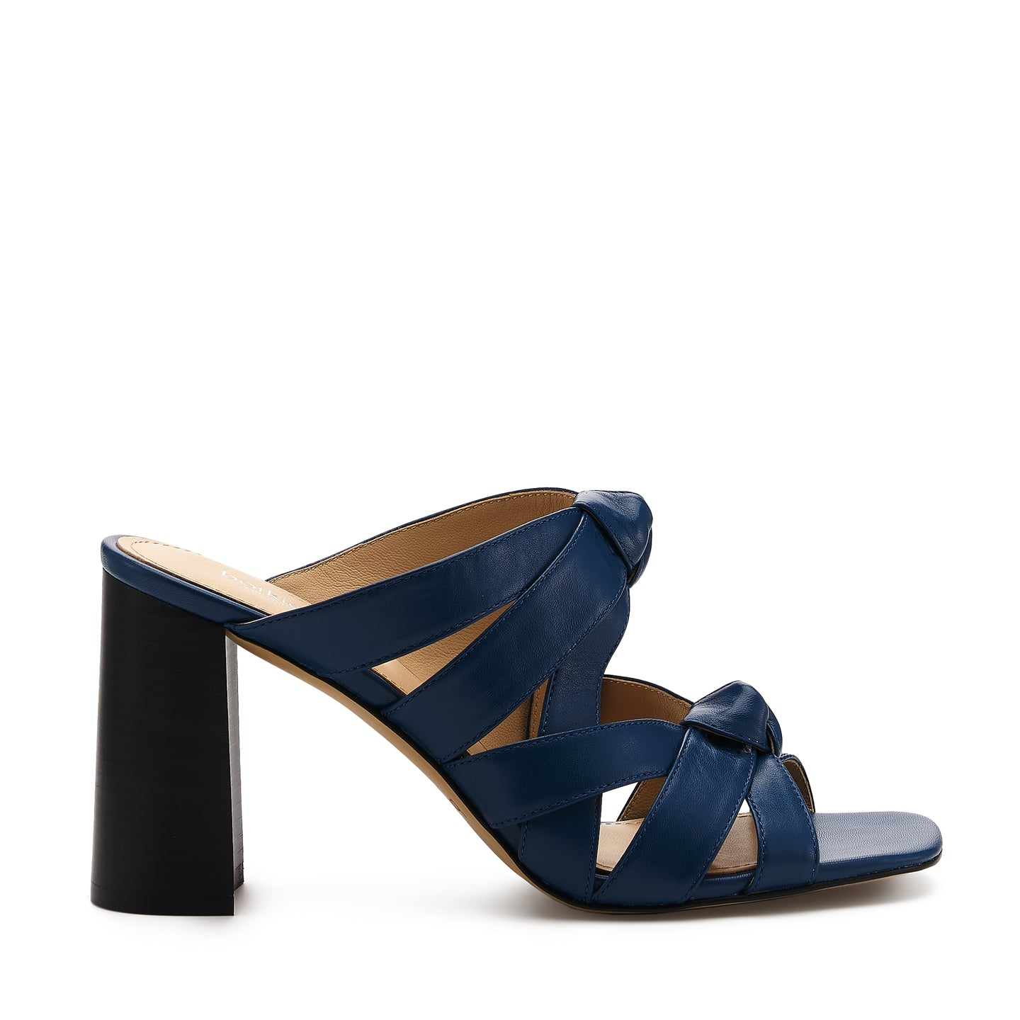 raffe multi strap mule galaxy blue side