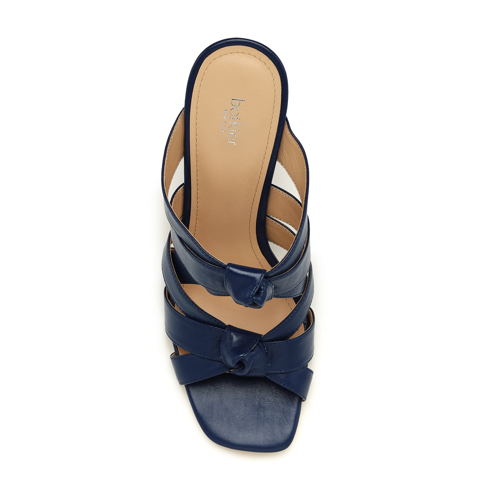 raffe multi strap mule galaxy blue top