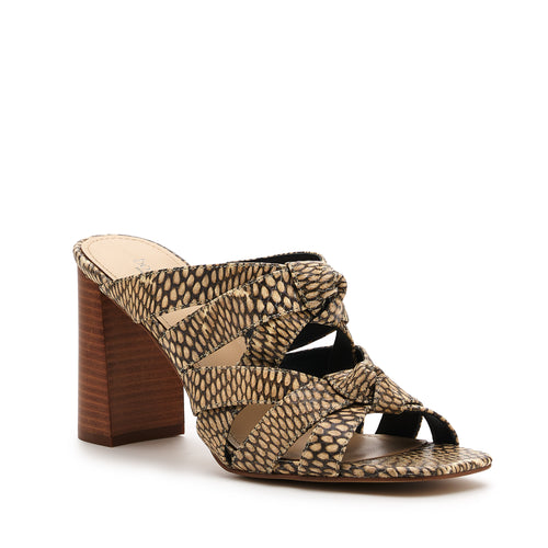 raffe multi strap mule desert snake side Alternate View