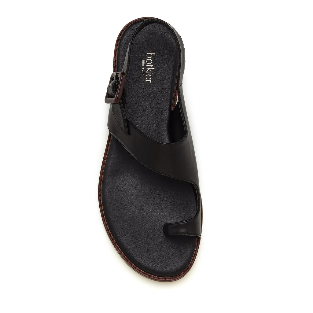 fargo sandal black top