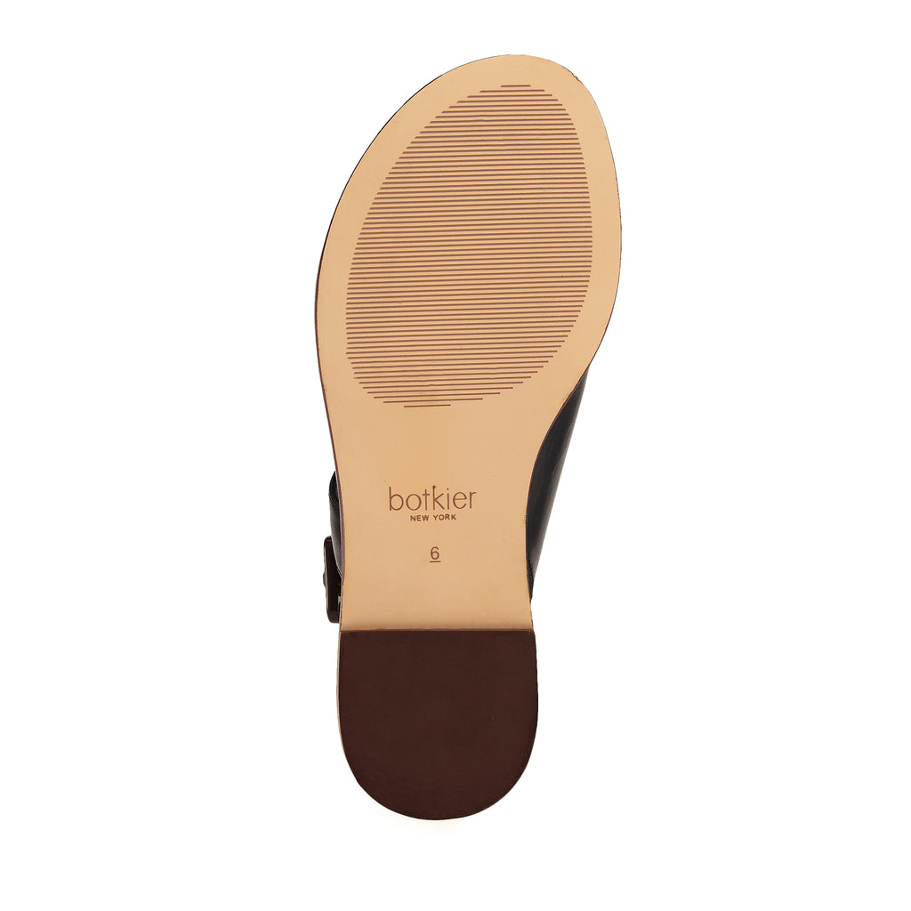 fargo sandal black bottom