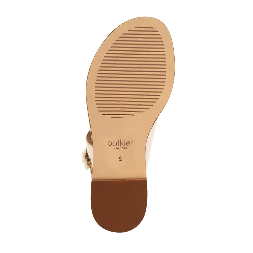 fargo sandal coconut bottom