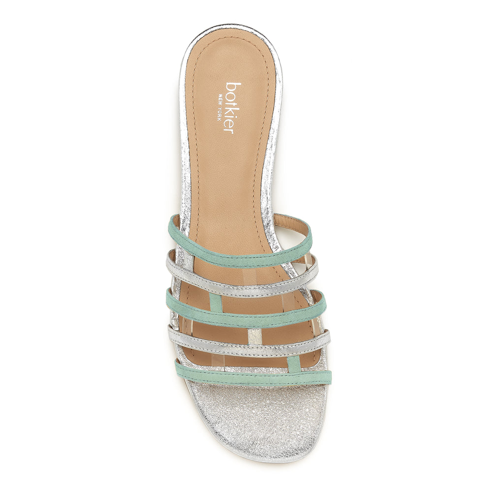 bridger slide iced mint top