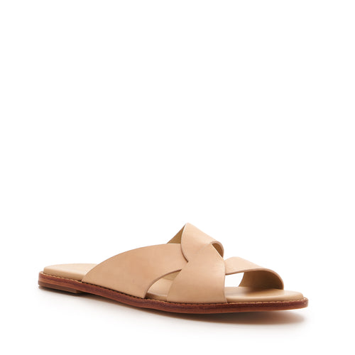 botkier zuri twist flat slide sandal in natural Alternate View