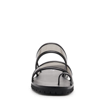 maje slide black front