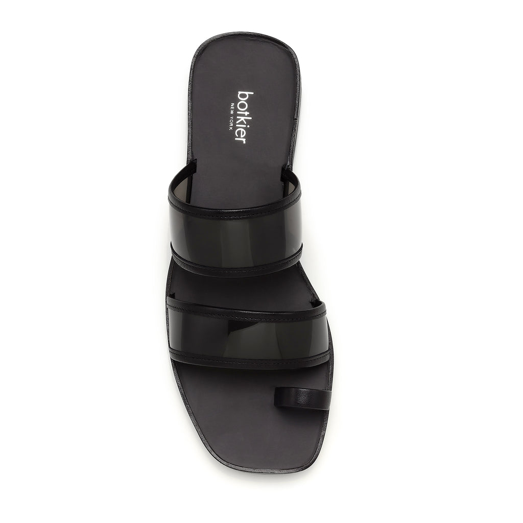 maje slide black top