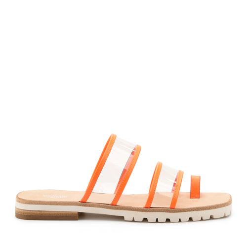 maje slide neon orange side