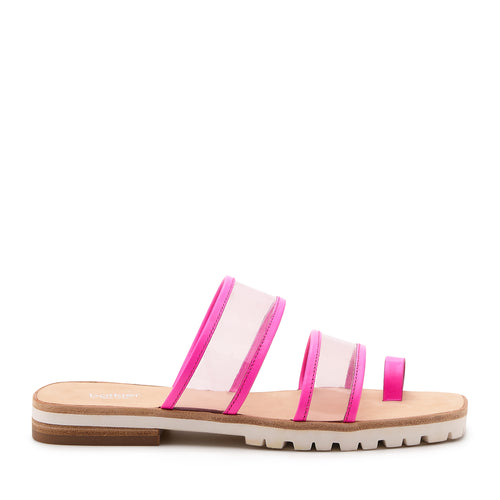 maje slide neon pink side