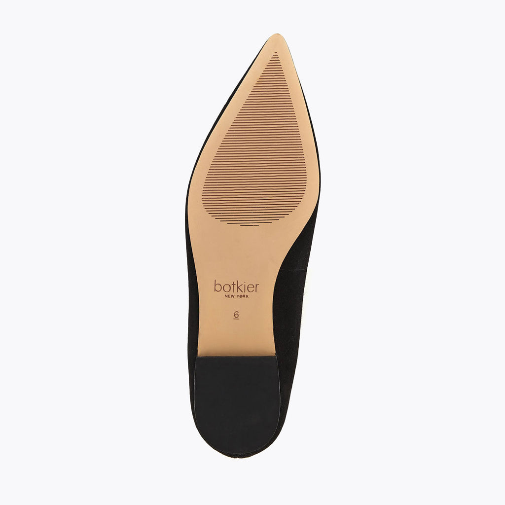 annika flat black bottom