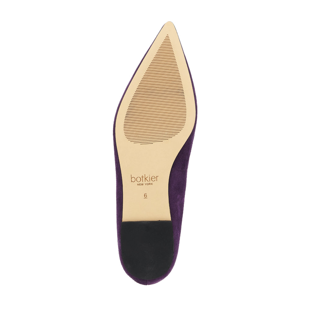 botkier annika flat dark amethyst bottom