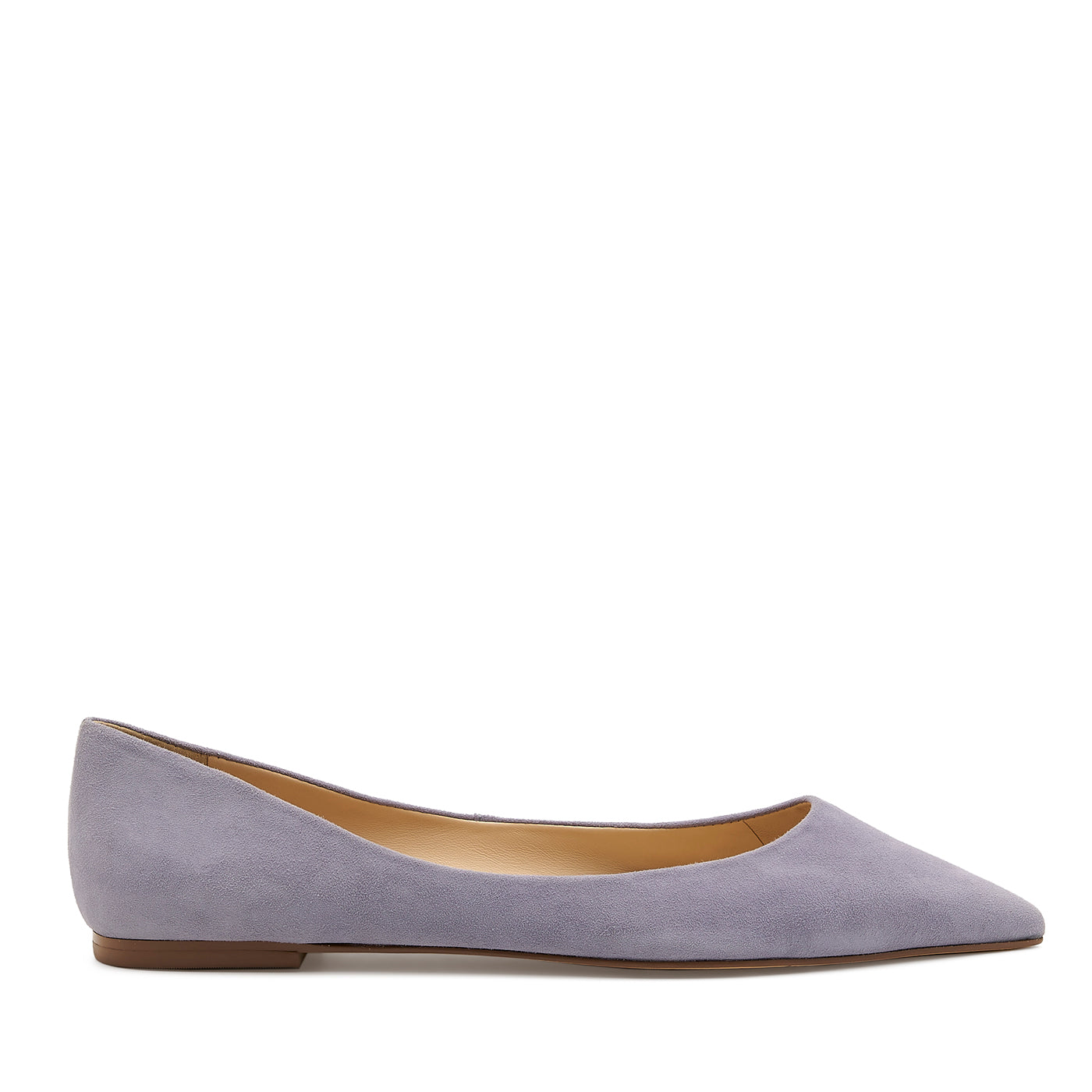 botkier annika pointed toe flat in purple haze