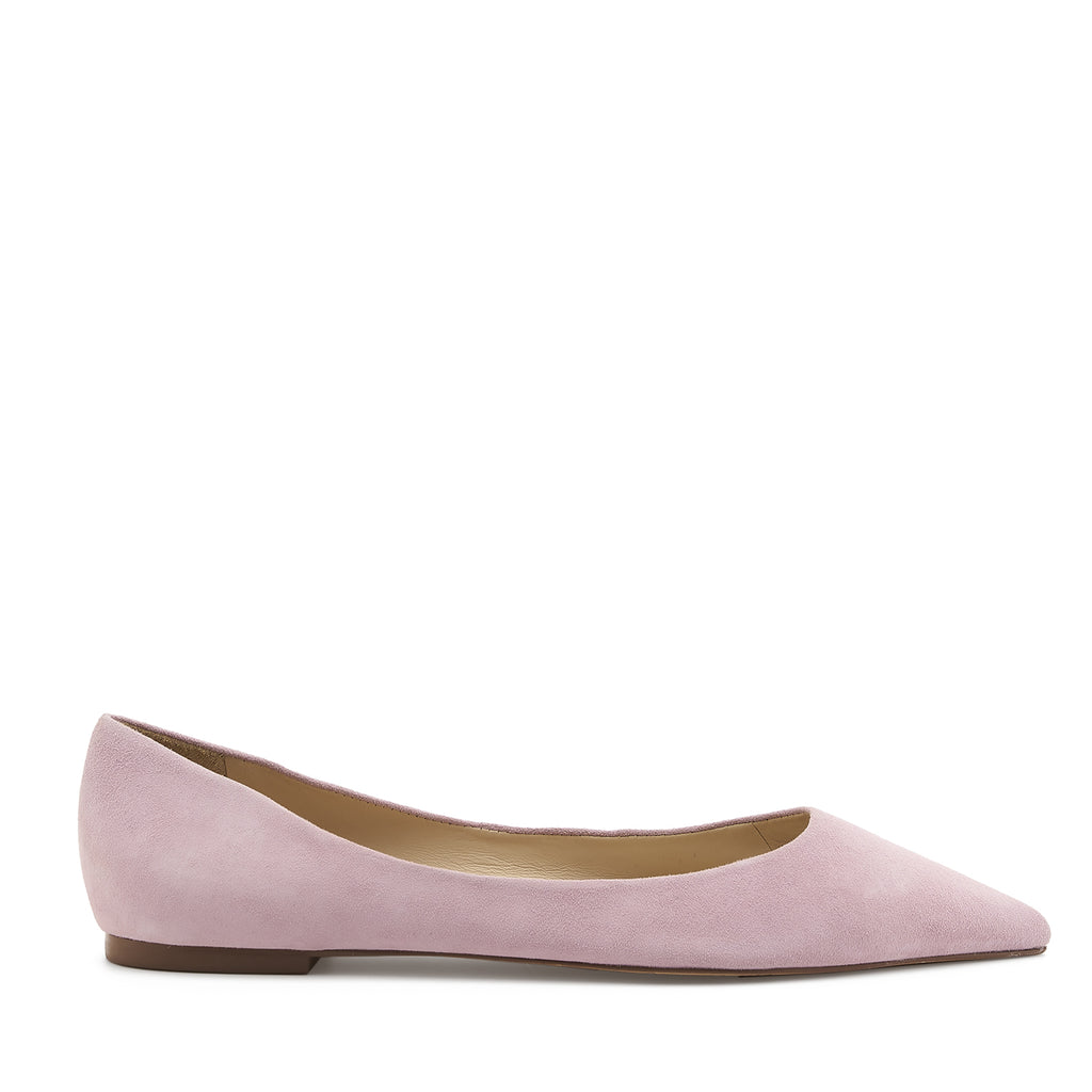 botkier annika pointed toe flat in lavender purple