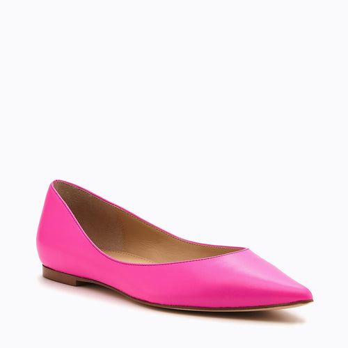 annika flat neon pink side Alternate View