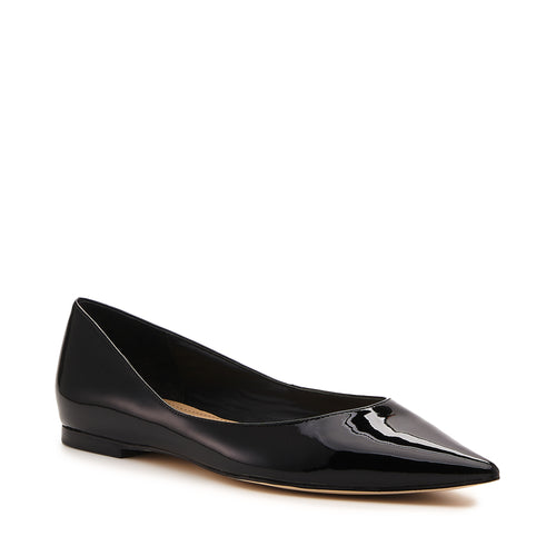 annika flat black patent side Alternate View