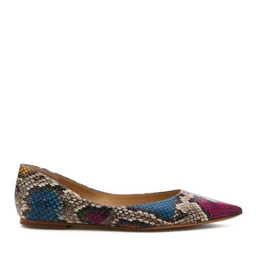 annika flat multi snake side