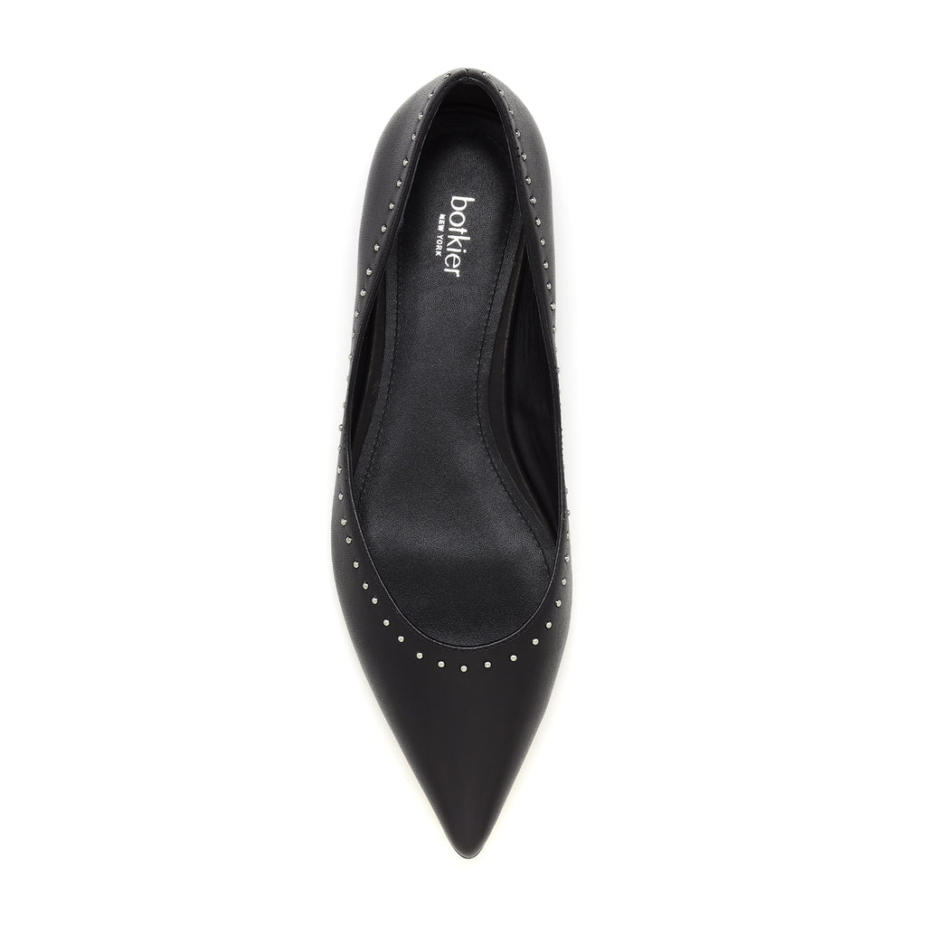botkier aubrey flat black top