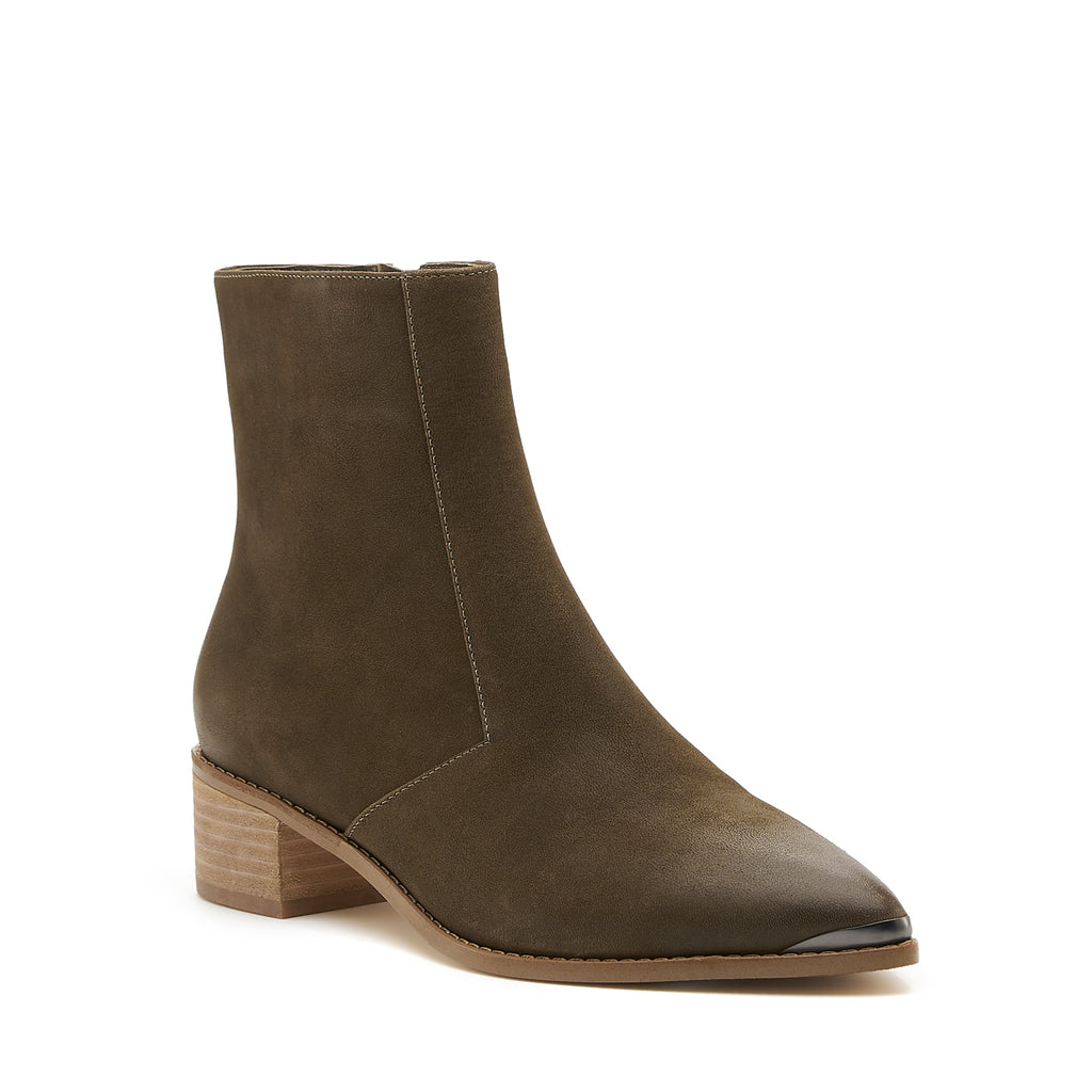 botkier greer boot khaki front angle