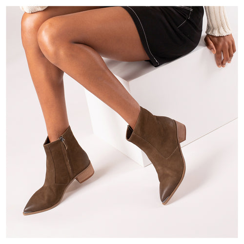 botkier greer boot khaki side Alternate View