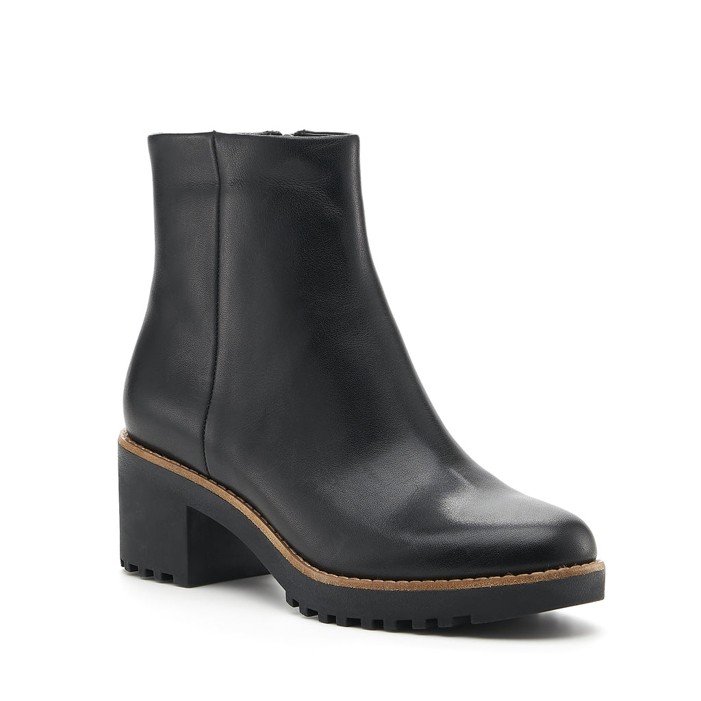 botkier brynn boot black front angle
