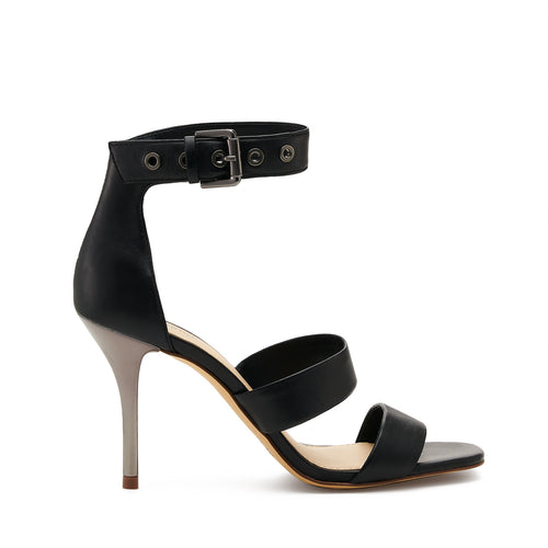 lorri heel sandal in black