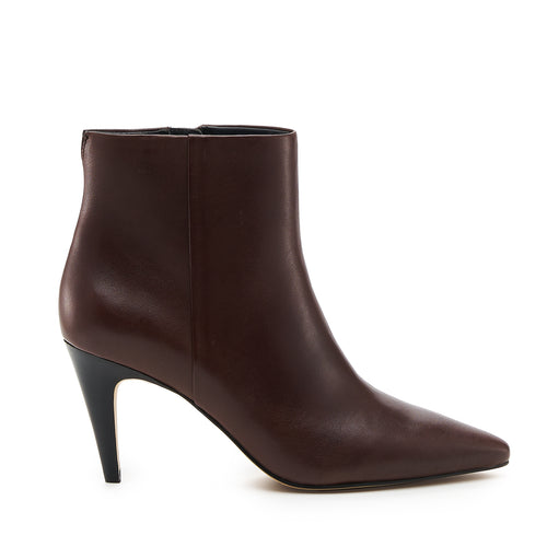botkier teagan bootie dark brown side