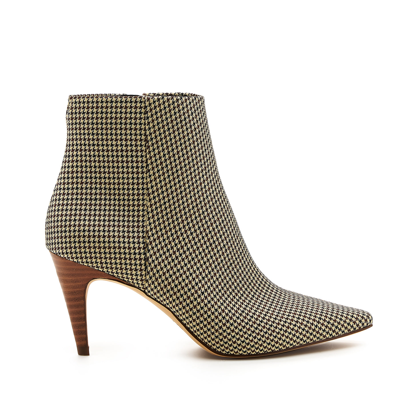 botkier teagan bootie houndstooth side