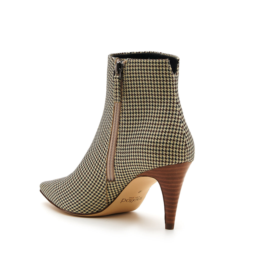 botkier teagan bootie houndstooth back angle