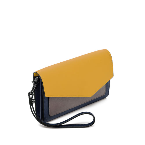 botkier cobble hill wallet in golden combo Alternate View