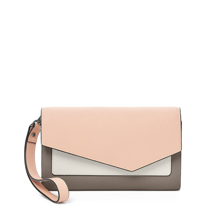 Botkier Cobble Hill Wallet Nude Combo Front