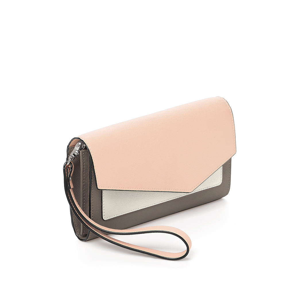 Botkier Cobble Hill Wallet Nude Combo Angle