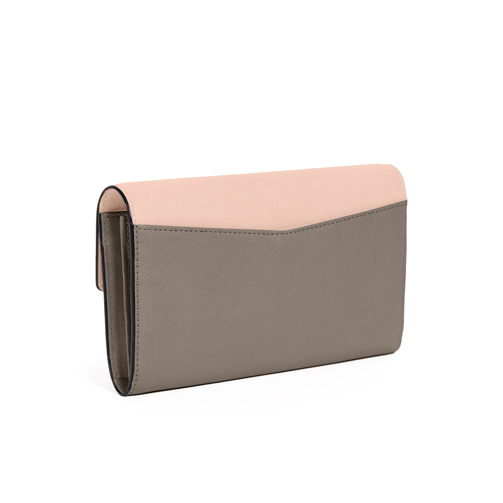 Botkier Cobble Hill Wallet Nude Combo Back