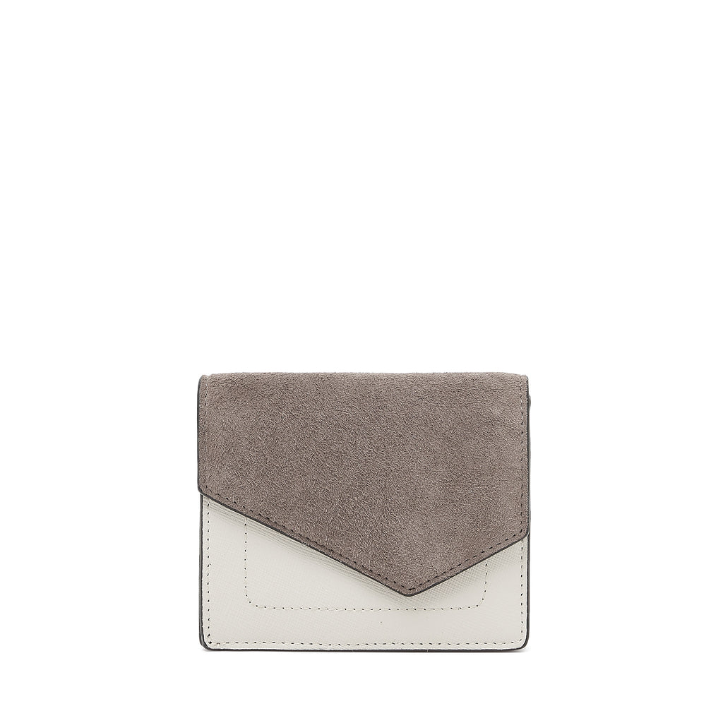 botkier cobble hill mini wallet in winter grey