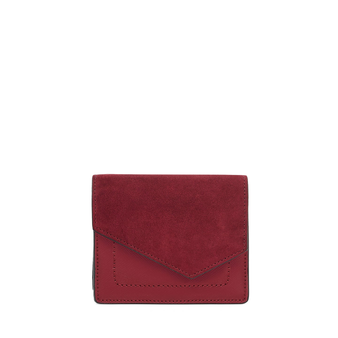 botkier cobble hill mini wallet in bordeaux red