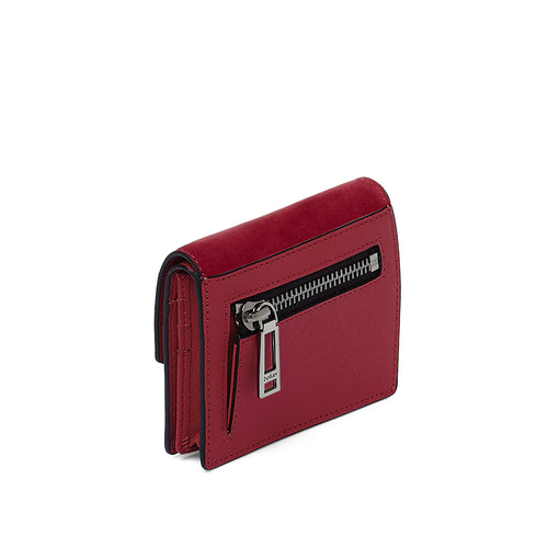 botkier cobble hill mini wallet in bordeaux red Alternate View
