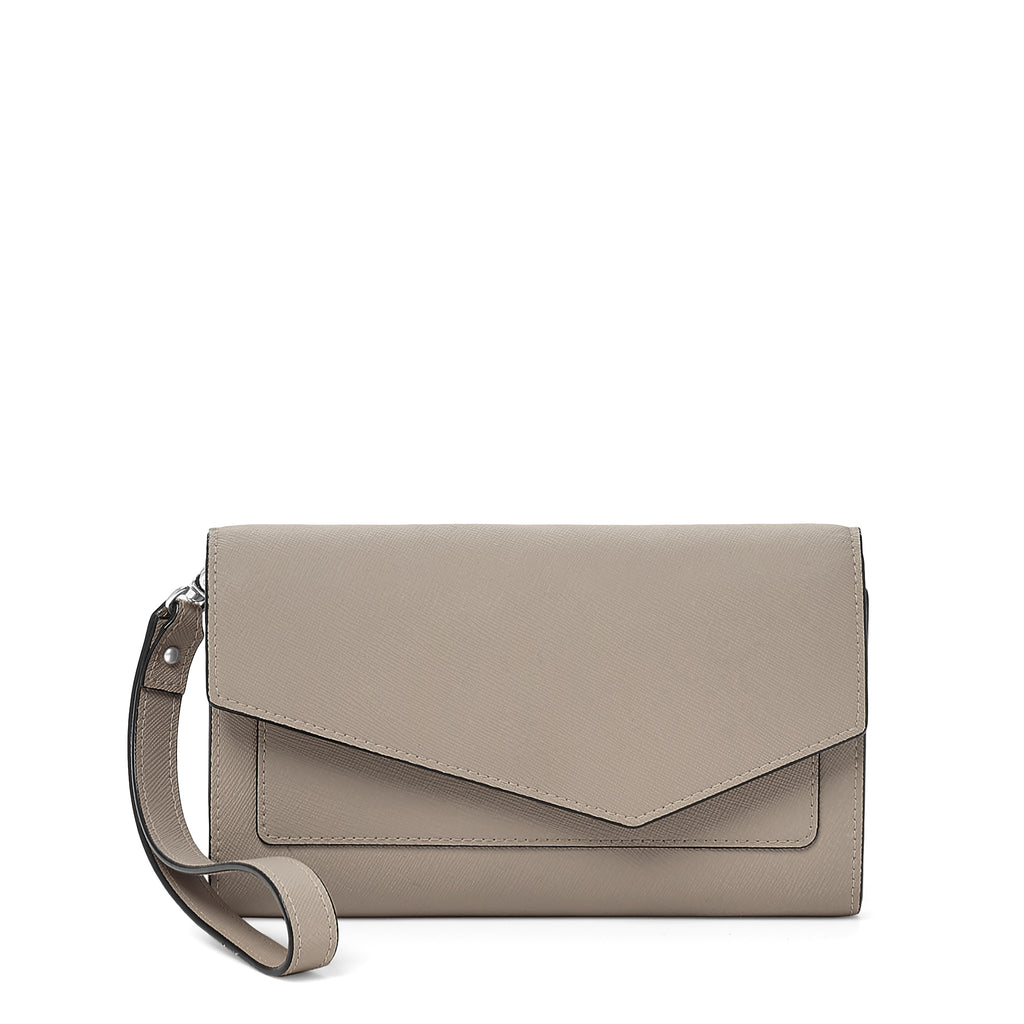 cobble hill wallet in mineral grey