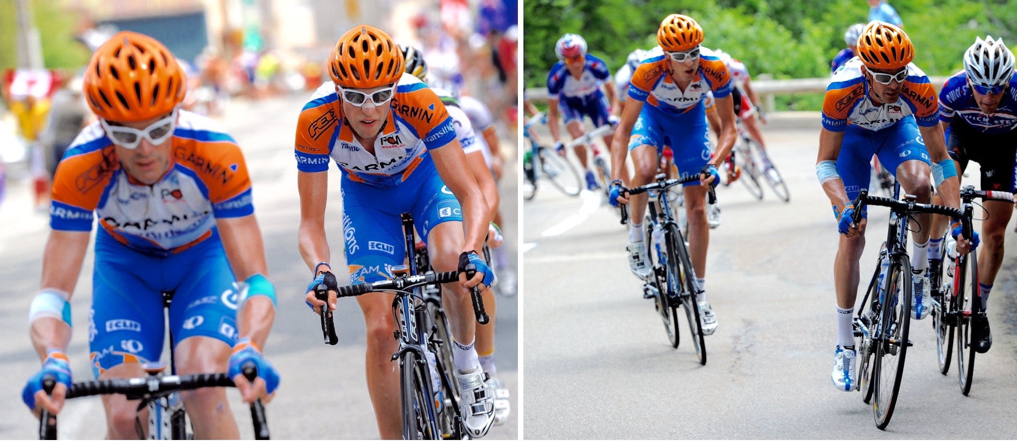 David Millar and Ryder Hesjedal