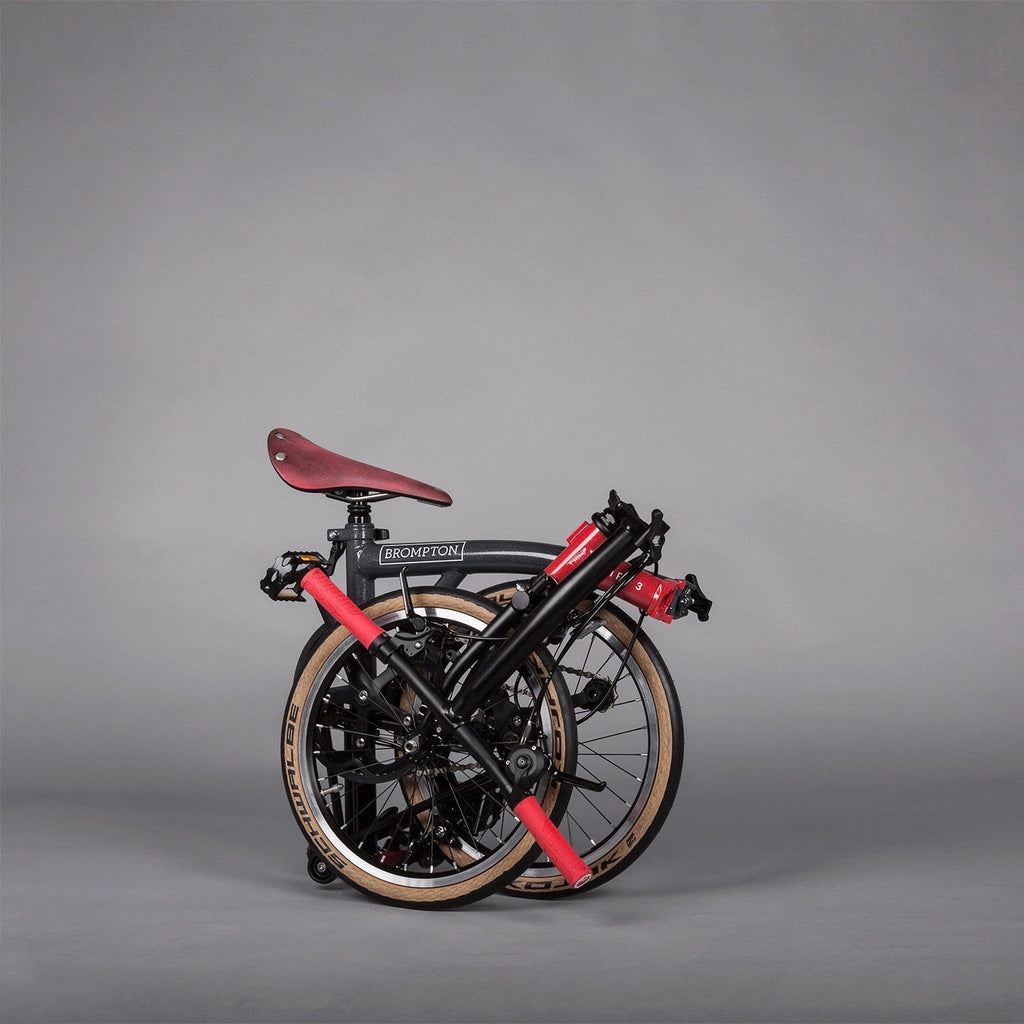Brompton X Chpt3 S6e X Folding Bike Designed For Road Cyclists