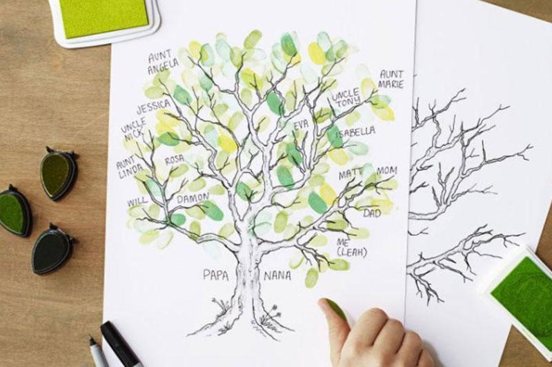 how to make your very own family tree legacybox